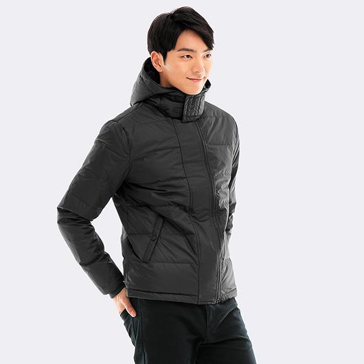 極暖風衣羽絨夾克-S.M.L.XL