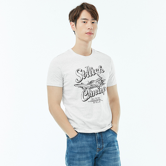 短袖T恤-struck-XS.S.M.L.XL