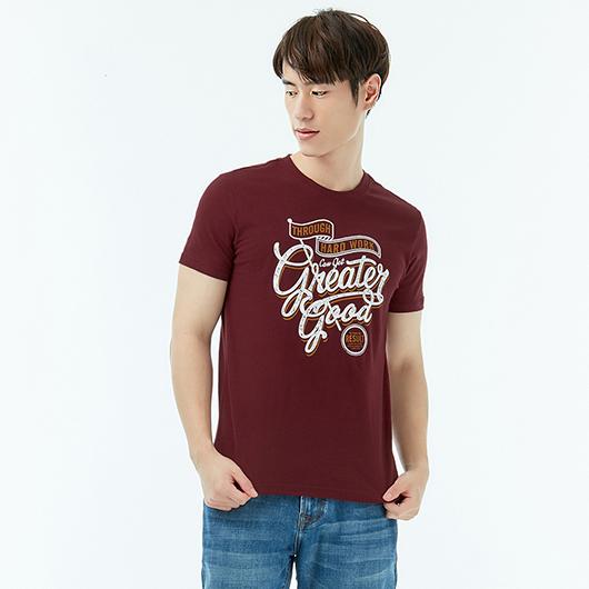 短袖T恤-努力-XS.S.M.L.XL