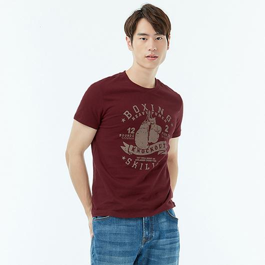 短袖T恤-鬥士-XS.S.M.L.XL