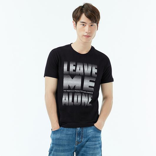 短袖T恤-獨處-XS.S.M.L.XL