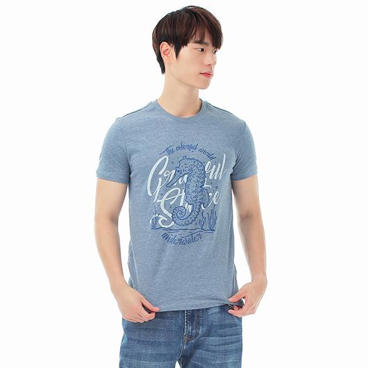短袖T恤-繽紛世界-XS.S.M.L.XL