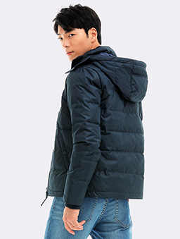 極暖風衣羽絨夾克-S.M.L.XL-寶藍
