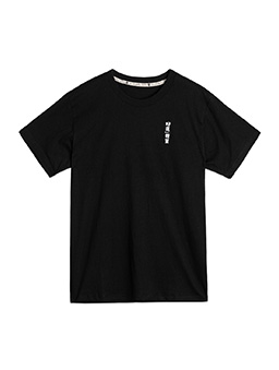 短袖T恤-好運體質-XS.S.M.L.XL.XXL-黑