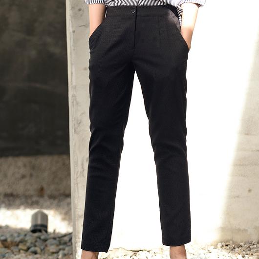 歐美流行修身圖紋設計老爺褲