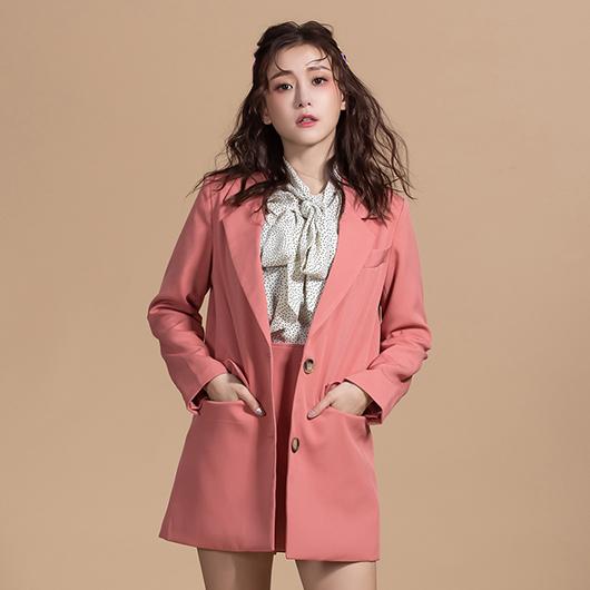 KODZx許允樂-絕對修身復古感西裝外套