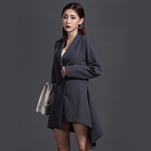 KODZx許允樂-回頭率200%一件式西裝洋裝