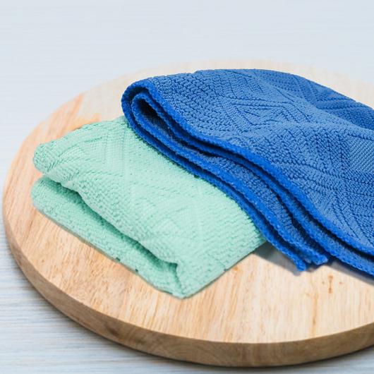魔乾 3D緹花雙效抹布擦拭布顏色隨機