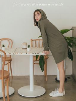 tokichoi -品牌嚴選多色親膚連帽開襟雙口袋外套-軍綠