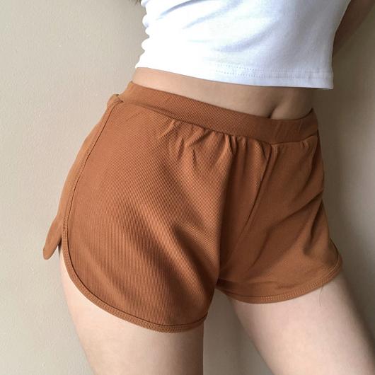 熱辣甜心多色休閒運動風短褲
