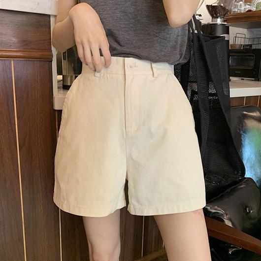 都市少女簡約風格百搭休閒短褲