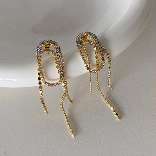925銀針流星迴圈耳環