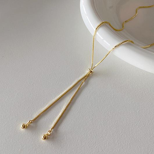 以愛之名金屬鎖骨項鍊