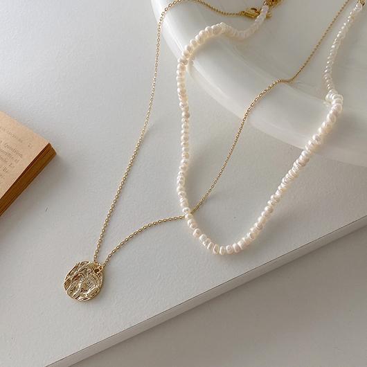 海神的金幣鎖骨項鍊