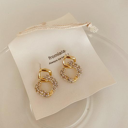 925銀針塞納河畔耳環