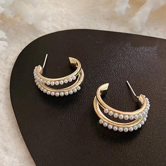 925銀針愛神維納斯耳環