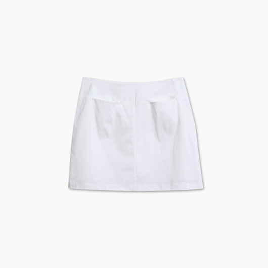 KODZ-MIT素面口袋短裙