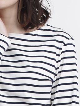 aimoha-basic圓領親膚棉質長袖T-shirt-白色